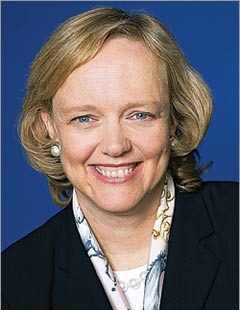 advantages and disavantages of meg whitman Meg whitman is stepping down as chief executive of hewlett packard enterprise  six years after joining its corporate predecessor and leading a.