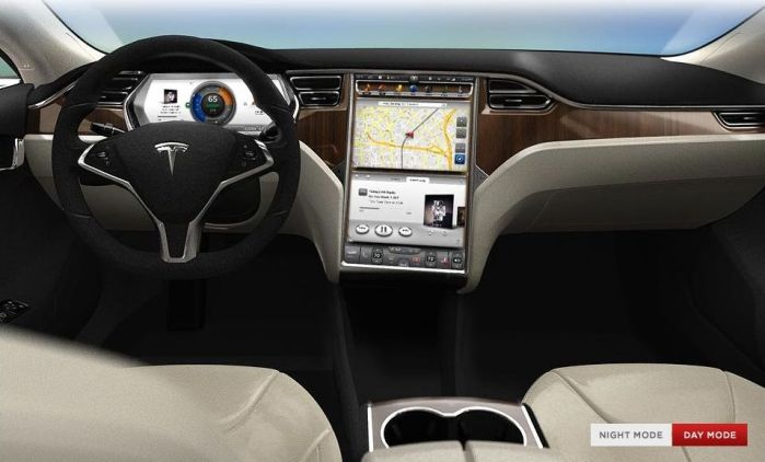 Astroman consulting executive search for Tesla model s interieur