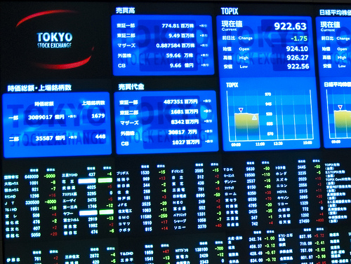 Tokyo stock exchange trading network system